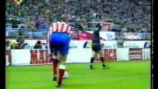 Atlético 4 - 3 Barcelona, fútbol total, resumen 93 94 - el mejor partido historia