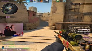 FaZe Teeqo FULL CS:GO Gameplay on Mirage