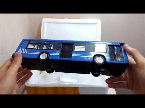 OTOBÜS  KUTU AÇILIMI Mavi şehir Otobüsü Uzaktan Kumandalı