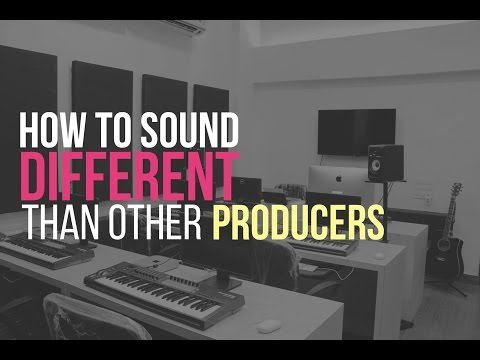 How to Sound different than other Music Producers ?