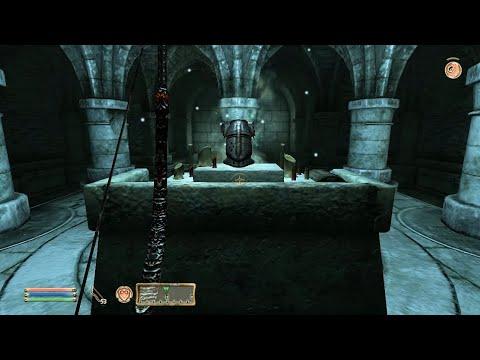 TES IV Oblivion #180 Гробница Крестоносца. Шлем Крестоносца