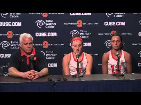 Coach Gait & Players vs. Albany Post-Game