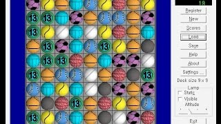 Magic Games : Magic Balls (Windows game 2000)