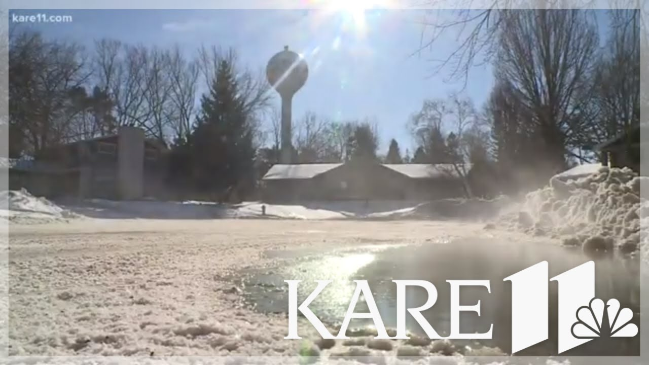 Water Tower Malfunction Causes Flooding Freezing In White Bear Township
