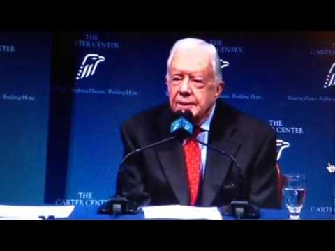 Jimmy Carter Has Brain Cancer; President Carter Will Beat It!