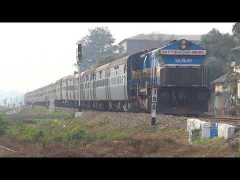 [IRFCA] Lalgarh (Bikaner) - Dibrugarh Avadh Assam Express heading toward Dibrugarh
