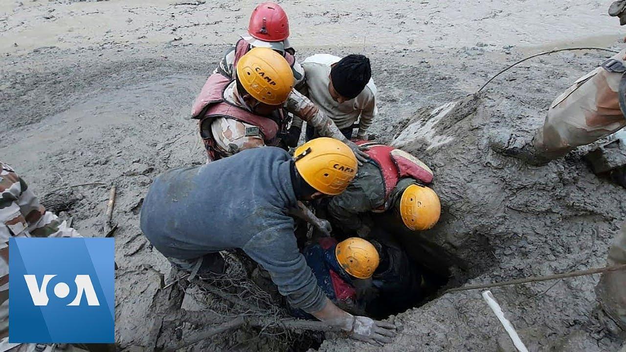 """Резултат с изображение за """"Опустошително срутване на ледник, 140 изчезнали в индийските Хималаи"""""""