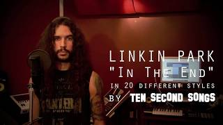 Linkin park in the end ten second songs 20 style covervia