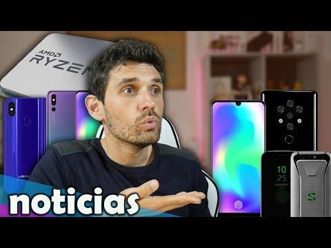 """Noticias: el móvil GAMER de XIAOMI """"Black Shark"""", Nokia X, los nuevos AMD"""