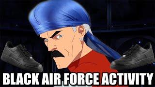 OMNI MAN HAS BLACK AIR FORCE ACTIVITY