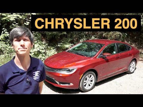 2015 Chrysler 200 Limited - Review & Test Drive
