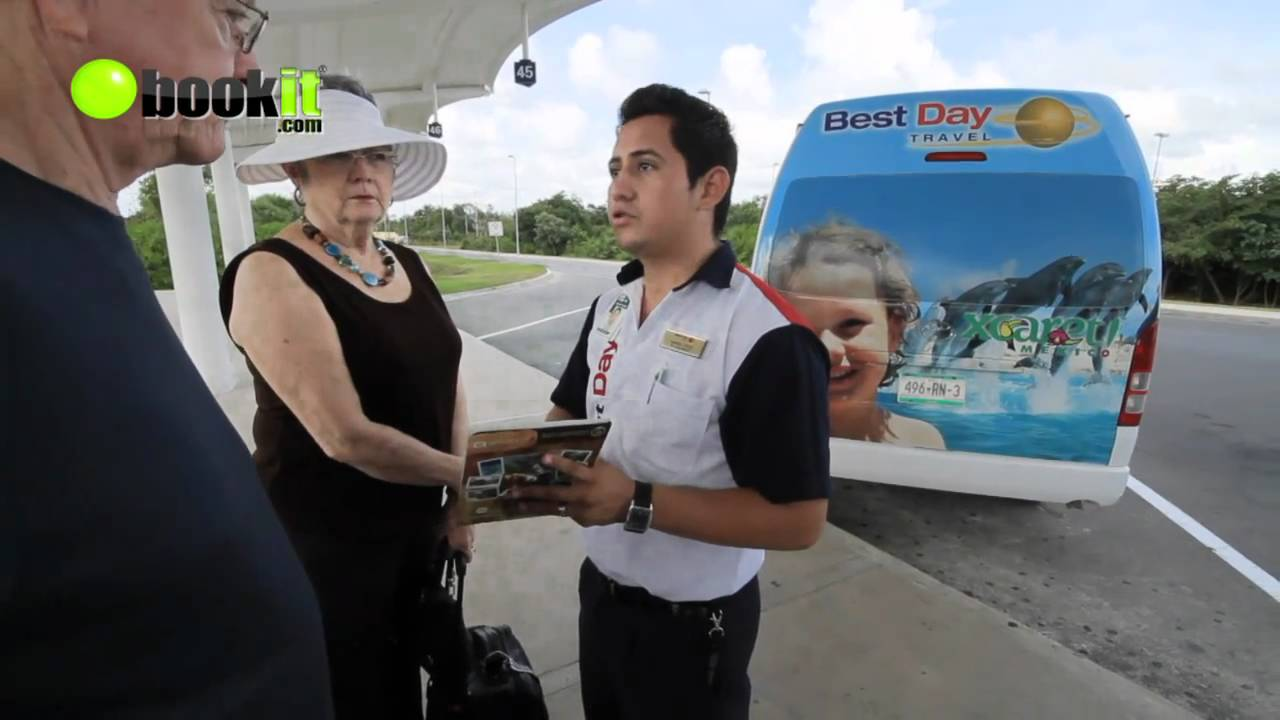 Best Day Transfers Shared Shuttle Cancun Mexico YouTube