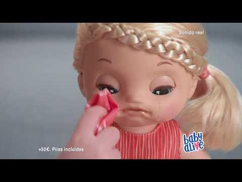 d28549db9a BABY ALIVE MIMOS Y CUIDADOS - YouTube