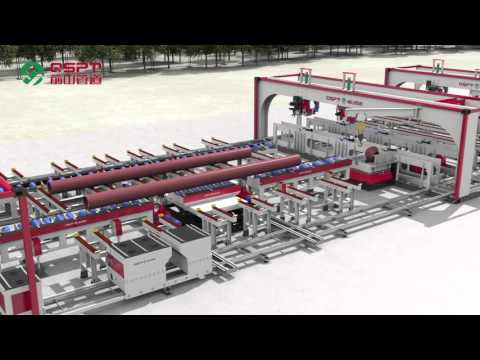 The Solution of Automatic Piping Fabrication Line in Moveable Workshop/Pipe Fabrication