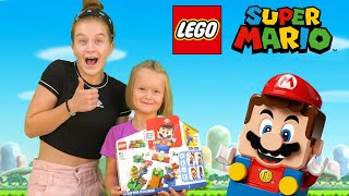 Саша и Богдана соревнуются в LEGO СУПЕР МАРИО | Обзор новинки от LEGO!