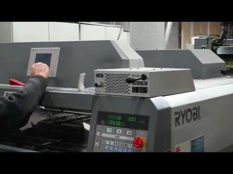 "RYOBI 758P 20x 29"" 8-Color 4/4 Long-Perfecting UV Press"