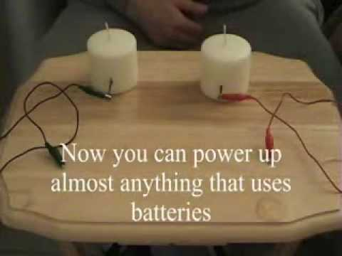 Candles Make Electricity Youtube