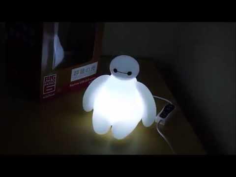 Big Hero 6 Baymax LED Nightlight