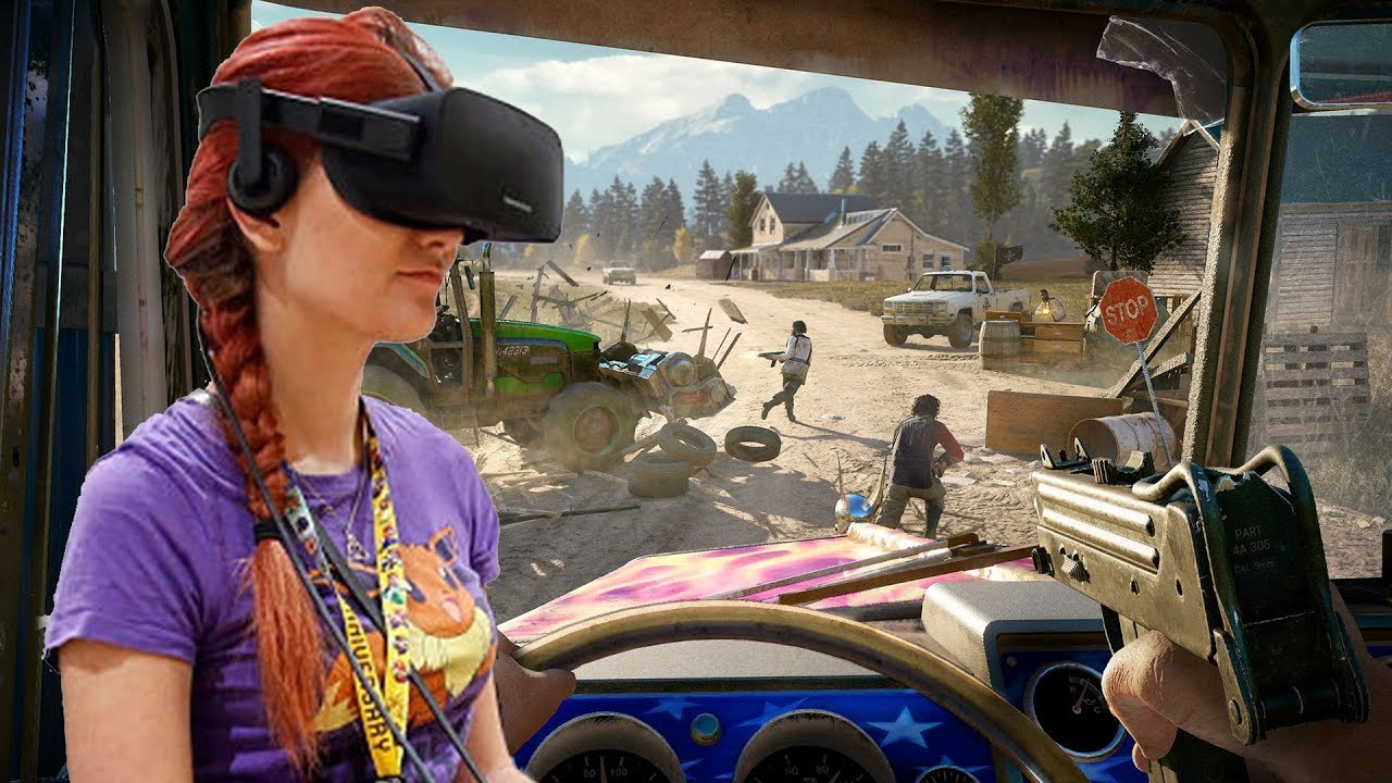 Far Cry 5 VR Mod Gameplay Beta Test For Windows Mixed