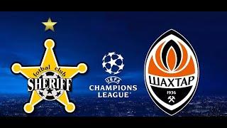 Шериф Шахтер 2-0 обзор матча Лига Чемпионов 15.09.2021 прямая трансляция футбол онлайн прогноз