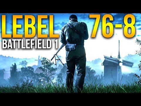 29 KILLSTREAK LEBEL FRONTLINES Battlefield 1 Scout Sniper Gameplay