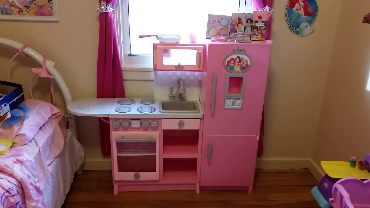 Disney Princess Gourmet Kitchen Set Review Youtube