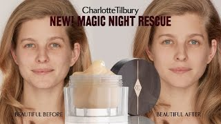How to Apply Magic Night Cream : Skincare Routine feat. Lydia | Charlotte Tilbury