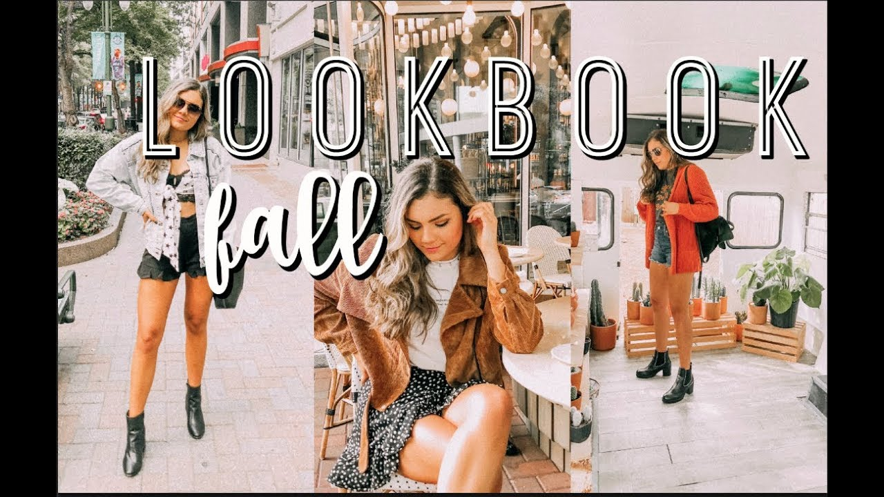 FALL OUTFITS LOOKBOOK & A CUCTUS BUS 1