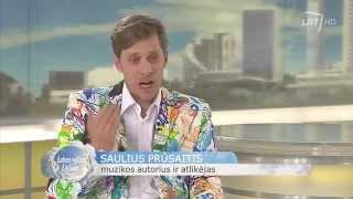 """Saulius Prūsaitis pristatė naujausią savo darbą – dainos """"Būkim draugais"""" vaizdo klipą"""