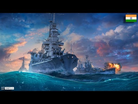 World Of Warships Giveaway • World Of Warships Live Stream Powered By OnePlus