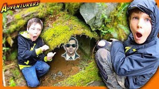 DB COOPER MYSTERY CLUES LEAD US TO ABANDONED TUNNEL!