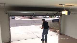 How to test the Safety Reversal System of your Chamberlain® garage door opener
