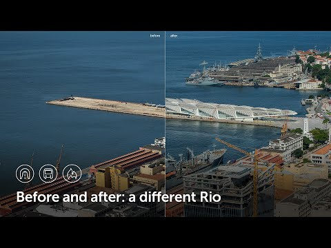 Before and after: a different Rio l Olympic City