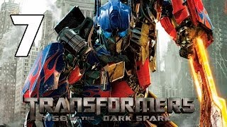 Transformers Rise of the Dark Spark Walkthrough Parte 7 Capitulo 7 Gameplay Español PC/PS4/XboxOne