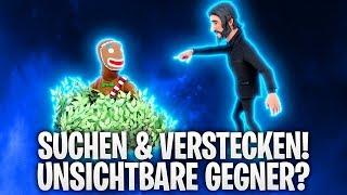 SUCHEN & VERSTECKEN mit UNSICHTBARE GEGNER! 🤬🎍 | Fortnite: Battle Royale