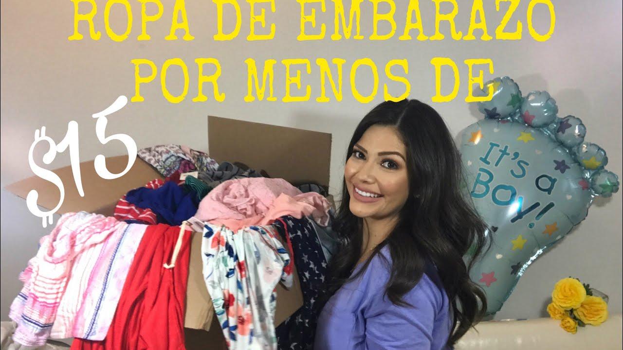 7fc3c8b21 HAUL ROPA DE MATERNIDAD CON LAS 3 s B  BUENA BONITA BARATA - YouTube