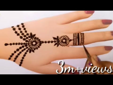 New jewelry mehndi design||mehndi design 2020||beautiful mehandi design||MehndiArt4You