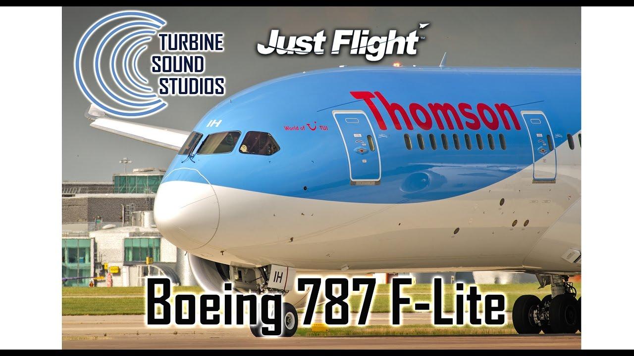 Justflight 787-F-lite - TSS sound preview
