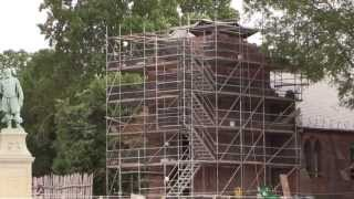 Archaeology of the Jamestown Church Tower