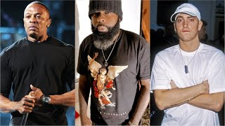 KXNG Crooked Breaks Down Dr. Dre's Influence On Both Eminem And Snoop Dogg