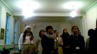 SFX Gospel Choir Singing Glory to Glory (Acapella)