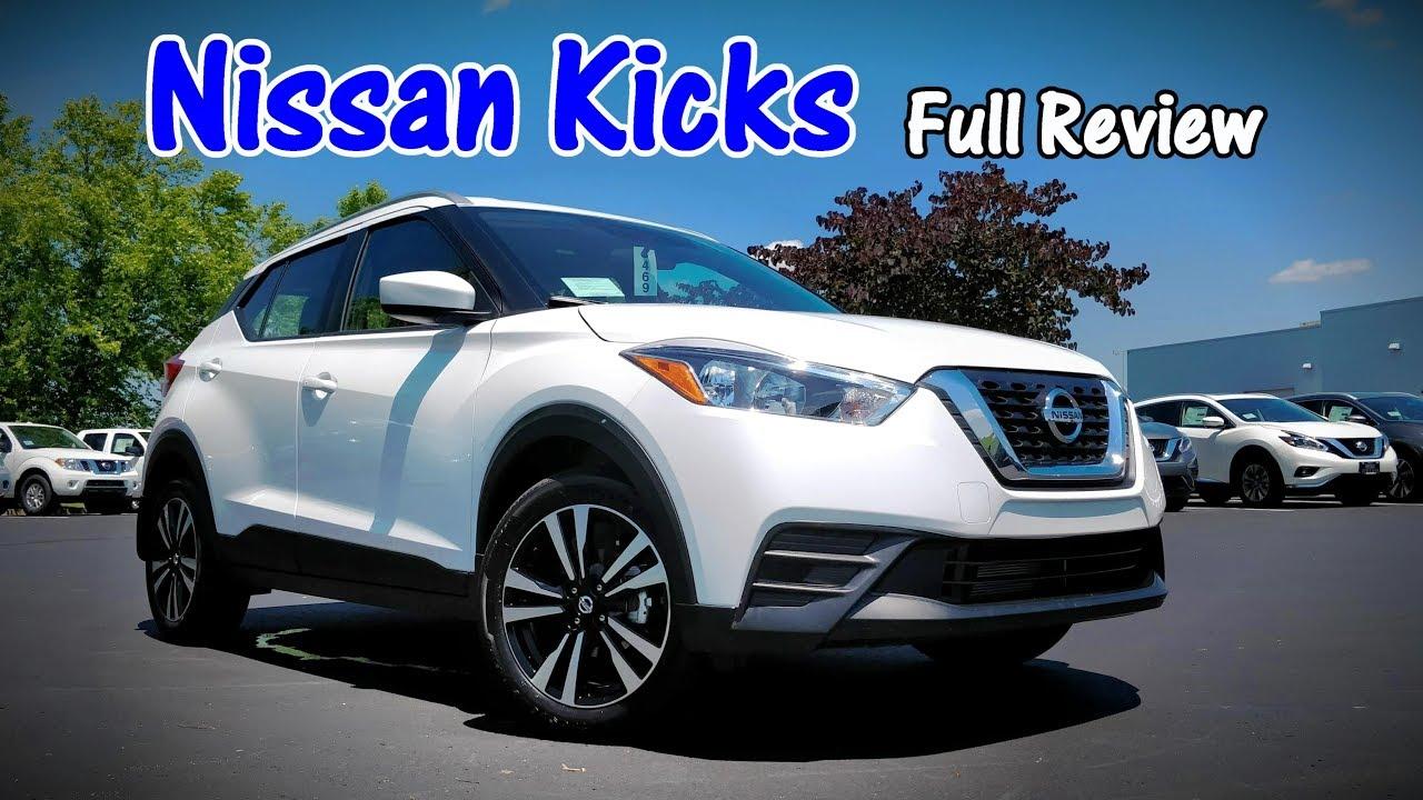 2018 Nissan Kicks Full Review Sr Sv S Youtube