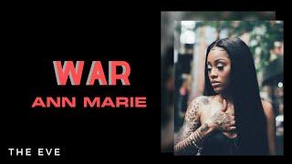 Ann Marie - War (Lyric)