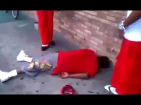 Rocky Lockridge knockout in street fight