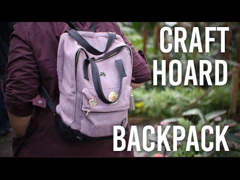 Tackling My Craft Hoard - Backpack