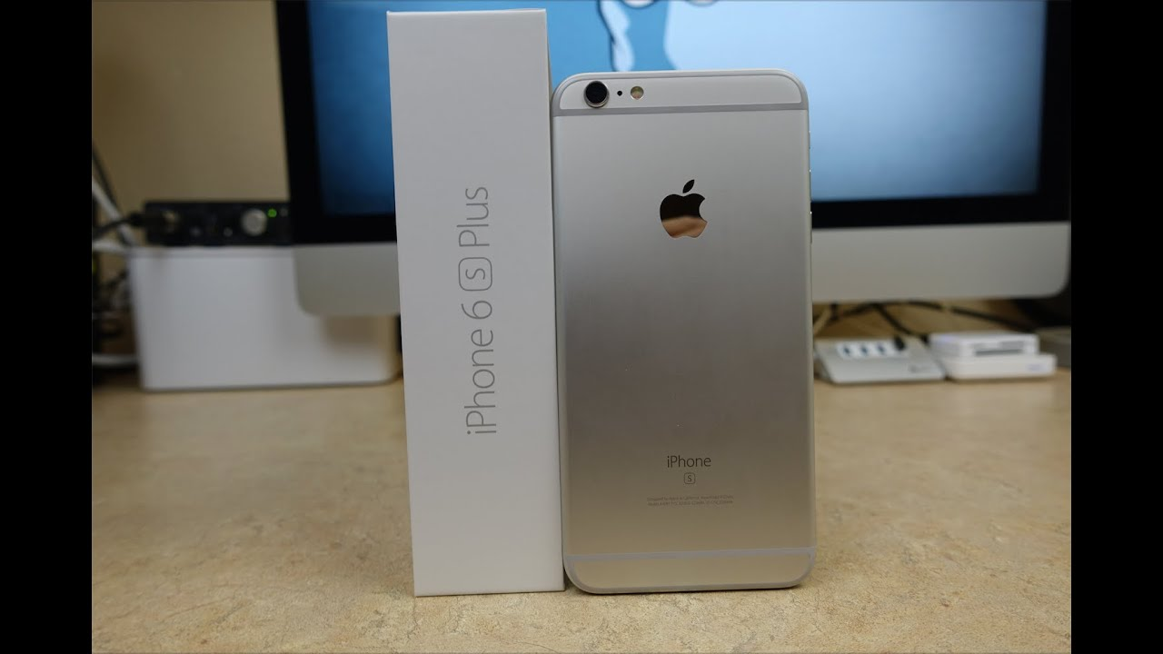 iPhone 6S Plus Silver Unboxing