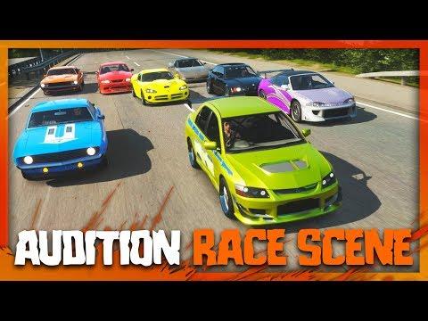 2 Fast 2 Furious Audition Race Scene Recreation! (Forza Horizon 4) thumbnail
