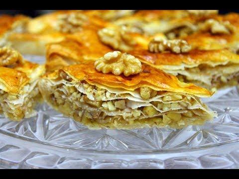 Удачный Рецепт Турецкой Пахлавы из Теста Фило. #ТурецкаяПахлава#Пахлава Домашний ресторан®