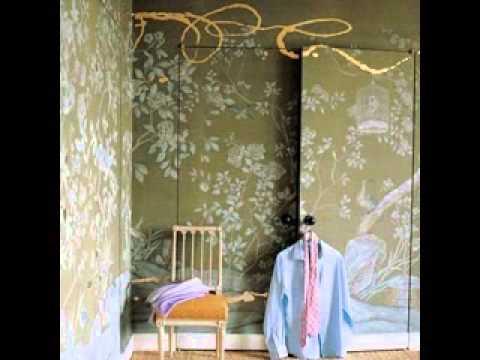 Dressing Room Wallpaper Decorating Ideas