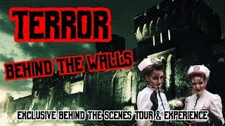 TERROR BEHIND THE WALLS at Eastern State Penitentiary | VIP All Access Tour 2018